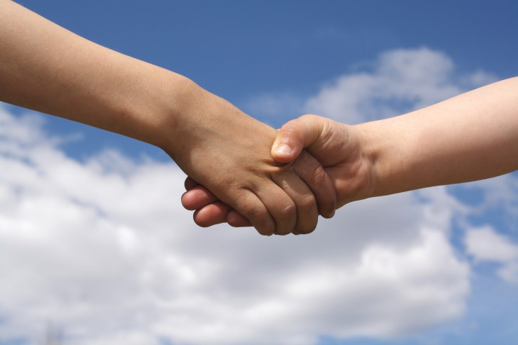 shake hands source freeimages