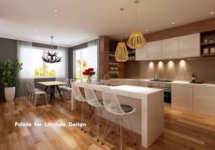 Renovated kitchen and decoration Felicia Olsen 600x