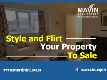 style and flirt your property to sale