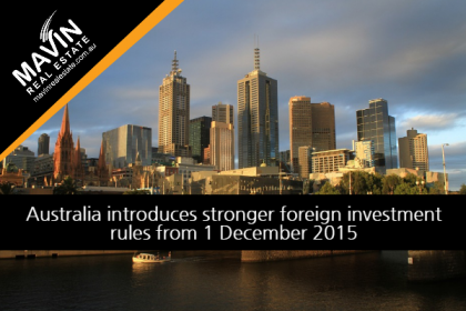 Australia introduces stronger foreign investment rules from