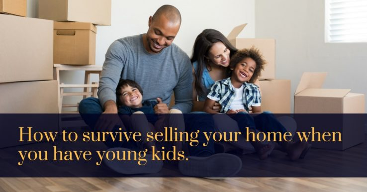 Young kids survive selling